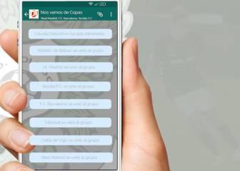 El cómico chat de Whatsapp del Toledo para buscar rival