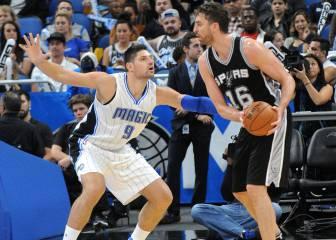 Revive la primera gran noche de Gasol con los Spurs: 14/5/4