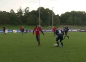 Un amateur humilló a Ribery... ojo a la reacción del francés