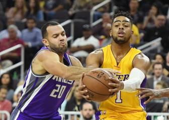 Russell quiere ser Kobe: 31 puntazos para ser el líder Laker