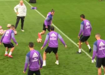 Bale, maestro de taconazos: asombró a todos en el rondo