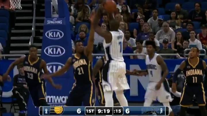 ¡Serge Ibaka desatado! 19 puntos y 17 rebotes con Orlando