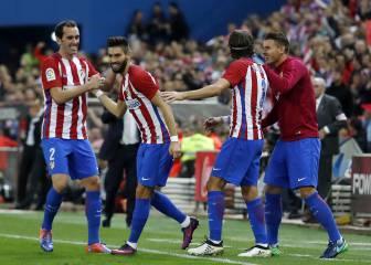 El Atleti sacó el rodillo frente a un Granada que se puso 0-1