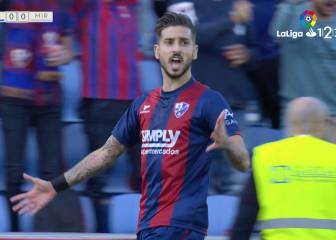 El Huesca abusa del Mirandés que sigue sin ganar a domicilio