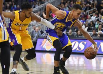 Resumen del Lakers-Warriors de la pretemporada NBA