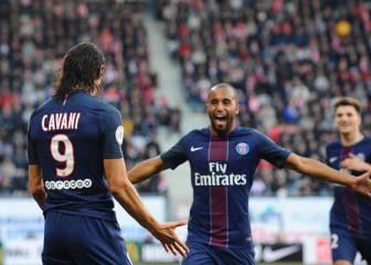 Resúmenes y goles del Nancy-PSG de la Ligue 1