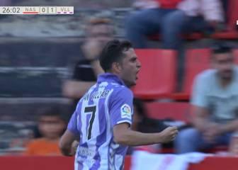 El Valladolid hunde un poco más al Nástic