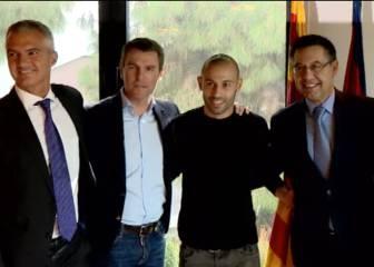 Mascherano renueva con el Barcelona hasta 2019