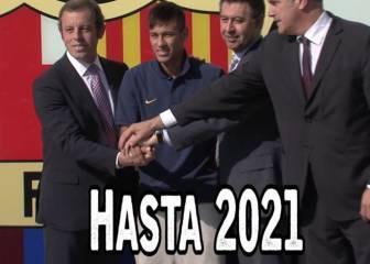 Neymar firmará la renovación el próximo viernes