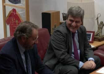 Miguel Cardenal visita la redacción del Diario AS