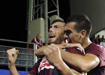 Sergi Enrich marcó a Osasuna después de todo el lío