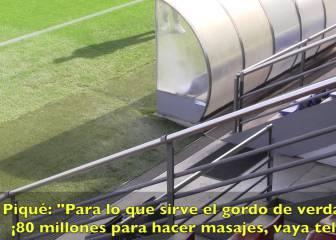 Piqué, a Suárez: