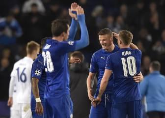 El Leicester da un paso de gigante hacia octavos de final