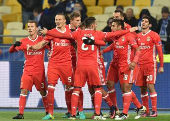 El Benfica logra su primera victoria en la Champions