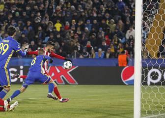 Carrasco se crece con el éxito: gol clave en su semana dorada