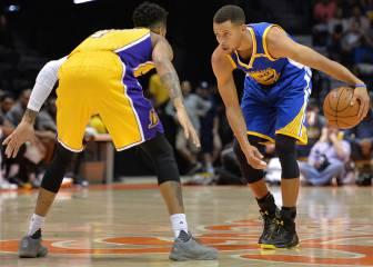 Un Curry genial guía el triunfo con show ante los Lakers