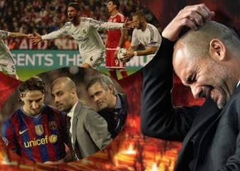 Las derrotas más dolorosas de Guardiola como entrenador