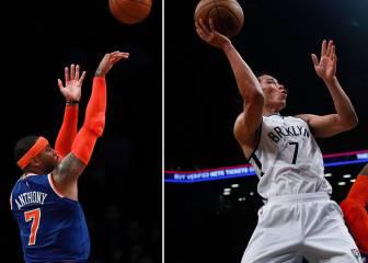 Carmelo Anthony vs. Lin, un auténtico duelo de canastones