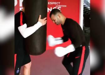 Jesé se enfunda los guantes de boxeo: ¿Estilista o fajador?