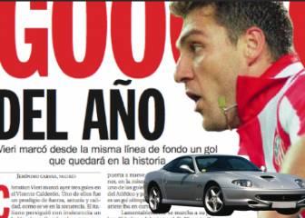 Historias del Calderón: el gol del siglo que valió un Ferrari
