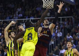 El Fenerbahce sufre pero se lleva el triunfo en Barcelona