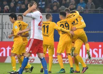 El Eintracht de Vallejo golea a domicilio en Hamburgo