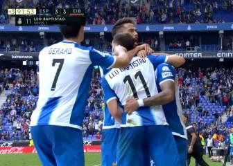 Baptistao salva un punto y la imagen para el Espanyol