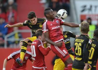 El Dortmund vuelve a pinchar y ve como el liderato se aleja