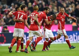 Resumen y goles del Bayern-Gladbach de Bundesliga