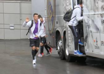 El Real Madrid se concentra para el duelo ante el Athletic