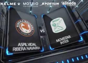 Resumen del Aspil Vidal Navarra-Movistar Inter (1-6)