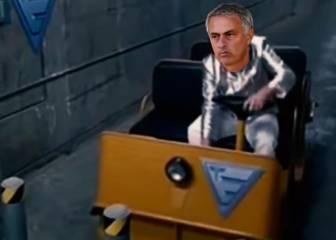 Mourinho intentando dirigir al United: el Vine que más triunfa