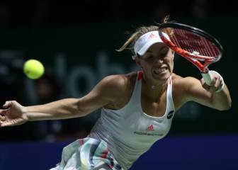 Kerber aguanta el pulso a Cibulkova tirando de oficio