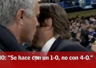 Mourinho le reprocha a Conte su actitud: