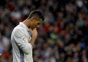 Las jugadas en la que Cristiano tiró y el Bernabéu le pitó