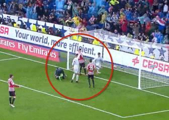 ¿Qué pidió Cristiano al asistente en el gol de Morata?