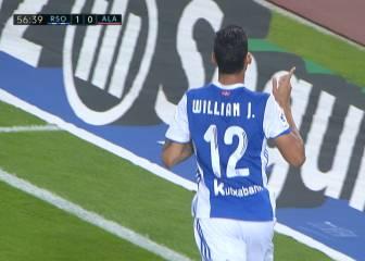 Gol de Willian José al Alavés en la Liga Santander