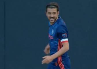 Villa se exhibe ante Lopetegui: asistencia, gol y genialidad