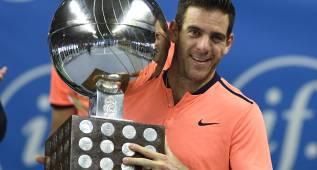 Del Potro gana un torneo ATP tres años después