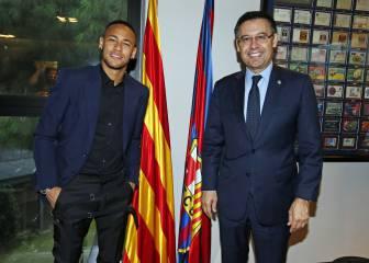 Las razones del no de Neymar al jeque del PSG