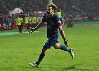 El gol con el que Forlán derrotó al Atlético de Kolkata