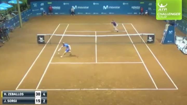 Ni Federer hace esto: la barbaridad del Pelé del tenis