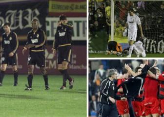 Los descalabros del Madrid en Copa: del Toledo al Real Irún
