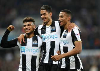 La paliza del Newcastle de Benitez en la Copa (6-0)