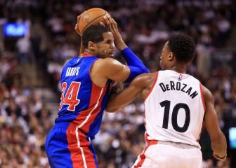 Resumen del Toronto Raptors - Detroit Pistons