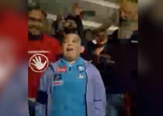 Alessio, el niño que fue jefe de los ultras por un día