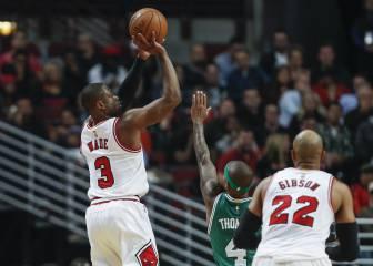 Wade debuta con los Bulls y decide el partido