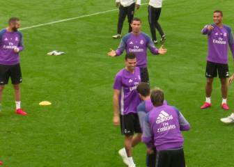¿Intentan timar a Cristiano? Toca balón y quieren que ligue