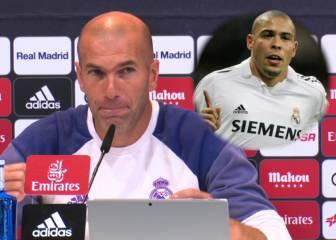 La emoción de Zidane al recordar sus viejos tiempos con Ronaldo