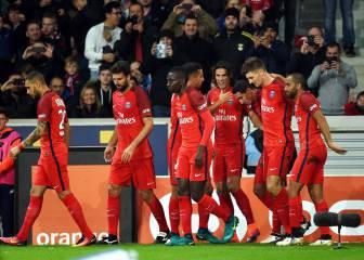 Cavani le da tres puntos importantes al PSG de Emery